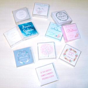 Scatoline portaconfetti personalizzate