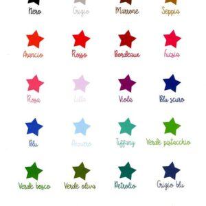 Campionario colori grafica partecipazioni