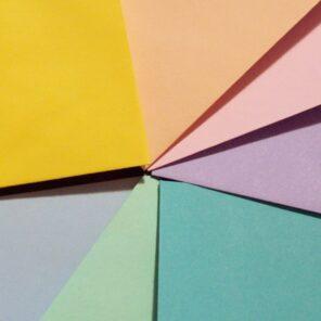 Partecipazioni quadrate albero della vita gamma colori buste