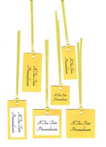TAG giallo sole