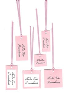 TAG rosa chiaro
