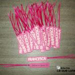 Tag personalizzati bimba nome rosa